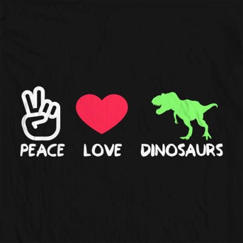 Peace Love Dinos