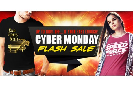 CYBER MONDAY - ARE YOU FAST ENOUGH TO GET 100% OFF?