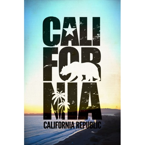 Cali for nia Poster