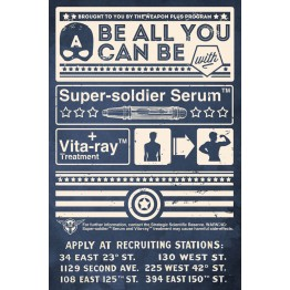 Super Soldier Serum Poster
