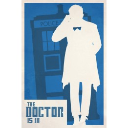 Doctor Who Is In Poster
