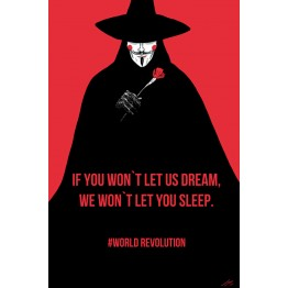 V For Vendetta Dreams Poster