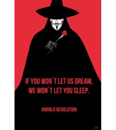 V For Vendetta Dreams Poster