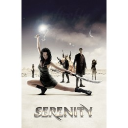 Serenity Cast Poster