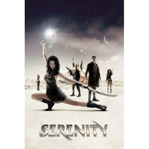 Serenity Cast Poster