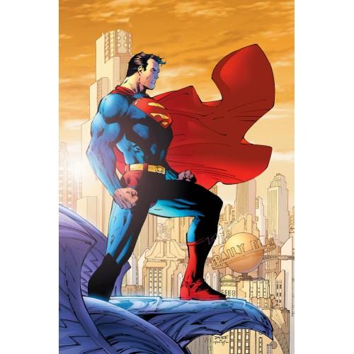 Superman Comic Poster