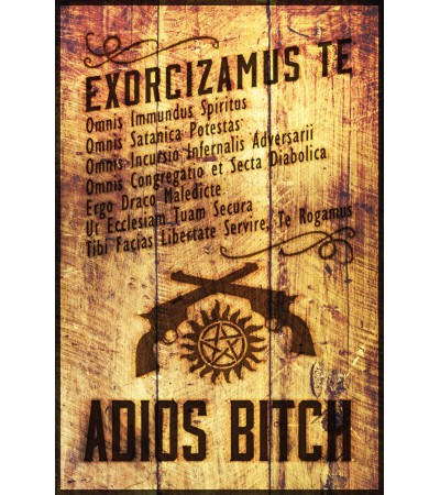 Exorcism Adios Bitch Poster