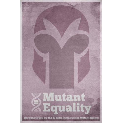X-Men Equality Poster 1