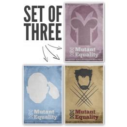 X-Men Equality Poster Set