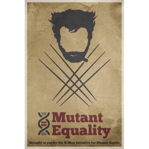 X-Men Equality Poster 3