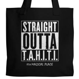 Straight Outta T.A.H.I.T.I. Tote
