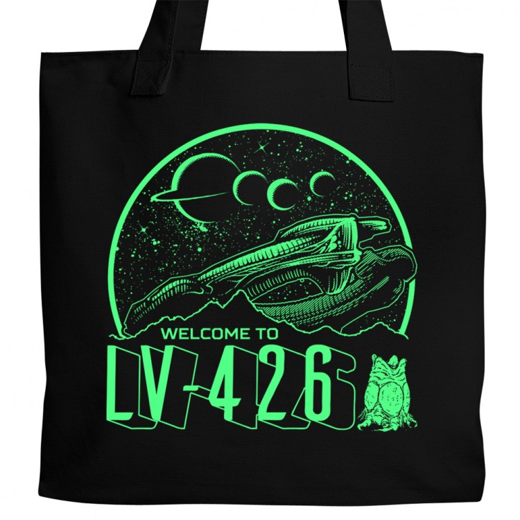 L Dogs Dota 2 Welcome to LV-426 Tote