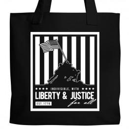 America Liberty & Justice Tote