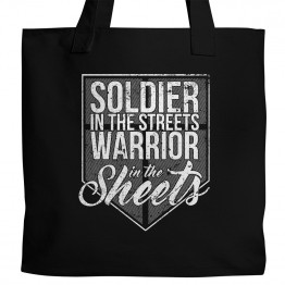 Warrior in the Sheets Tote