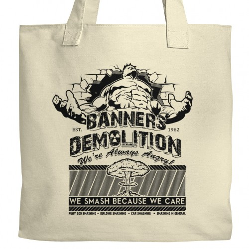 Banners Demolition Tote