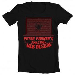 Spiderman Web Design