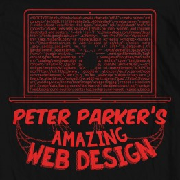 Spiderman Web Design