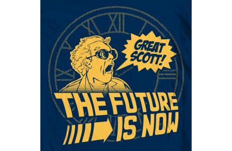 Great Scott! It's October 21st 2015...