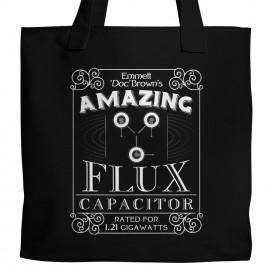 BTTF Flux Capacitor Tote