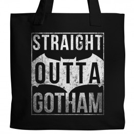 Straight Outta Gotham Tote