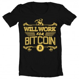Will Work for Bitcoin