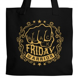 Black Friday Warrior Tote