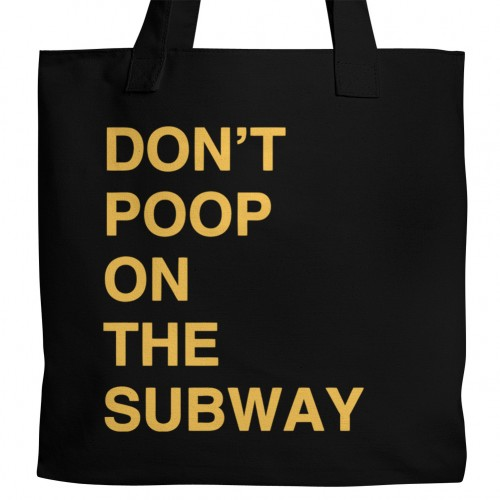 Brooklyn 99 Don't Poop Tote