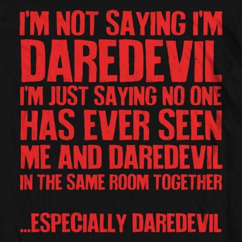 Daredevil is Blind