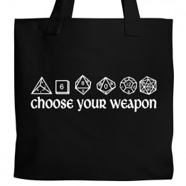 Choose Your Weapon Tote