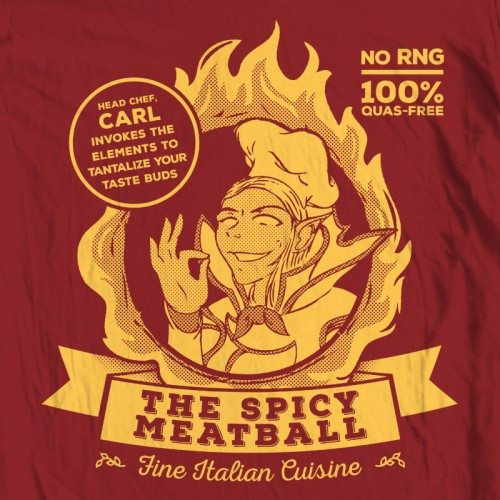 Invoker's Spicy Meatball
