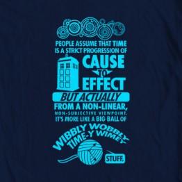 "Doctor Who ""Timey Wimey"""