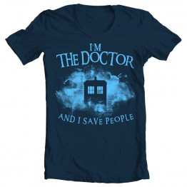 "Doctor Who ""I Save People"""
