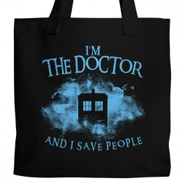 """""""I Save People"""" Tote"""