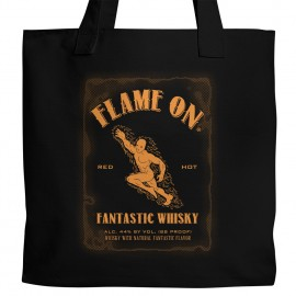 Flame On Whisky Tote