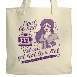 Fantasy Football Girl Tote