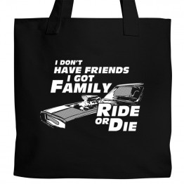 Fast Furious Family Tote