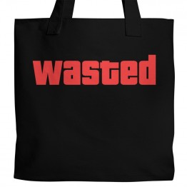 "GTA ""Wasted"" Tote"