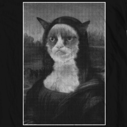 Grumpy Cat / Mona Lisa