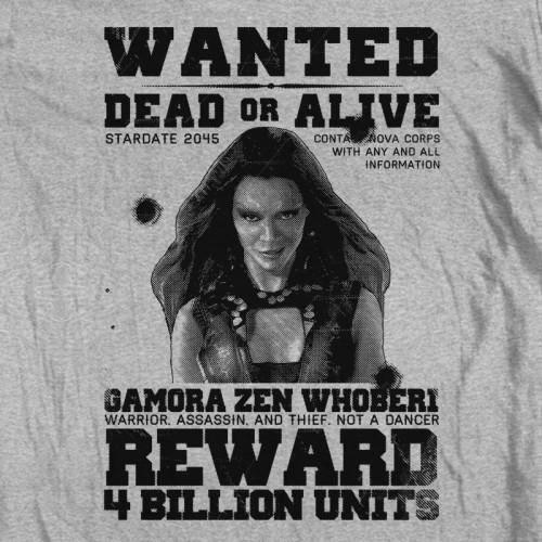 GotG Gamora Wanted Poster