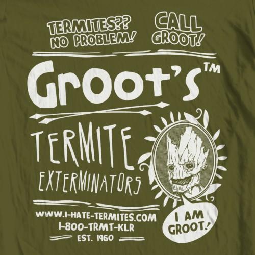 GotG Groot Hate Termites