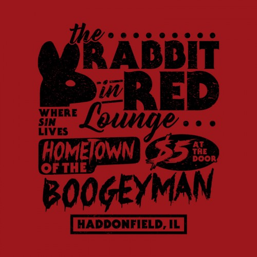 Rabbit in Red Lounge