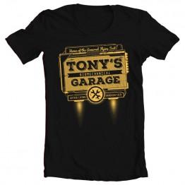 Iron Man Tony's Garage