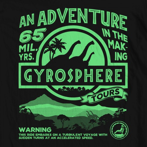 Jurassic Gyrosphere