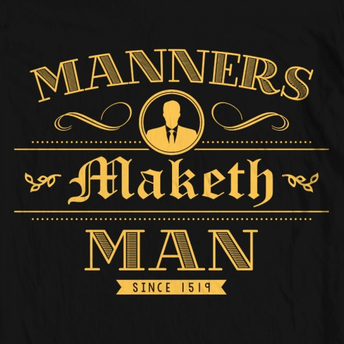 Manners Maketh Man
