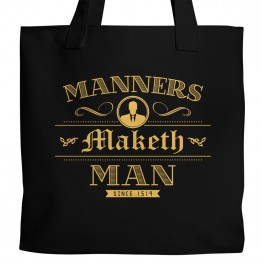 Manners Maketh Man Tote
