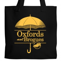 Oxfords Not Brogues Tote