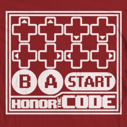 Honor the Konami Code
