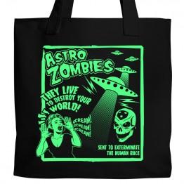 Misfits Astro Zombies Tote