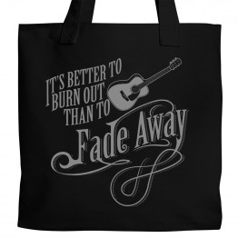 Neil Young Fade Away Tote