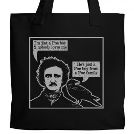 Just a Poe Boy Tote